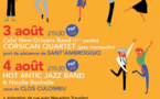 JAZZ'in LUMIU  di ritornu in Lumiu i 3 è 4 d'agostu 2017