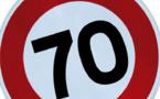 Sécurisation de la Nationale : nouvelle limitation de vitesse