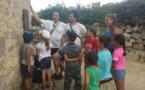 Promenade à Oci et entraînement à la lecture en milieu naturel pour les enfants du centre aéré de Lumiu