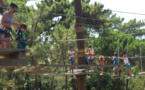 Les enfants du centre aéré ne sont pas en reste d'action au cœur de l'été !